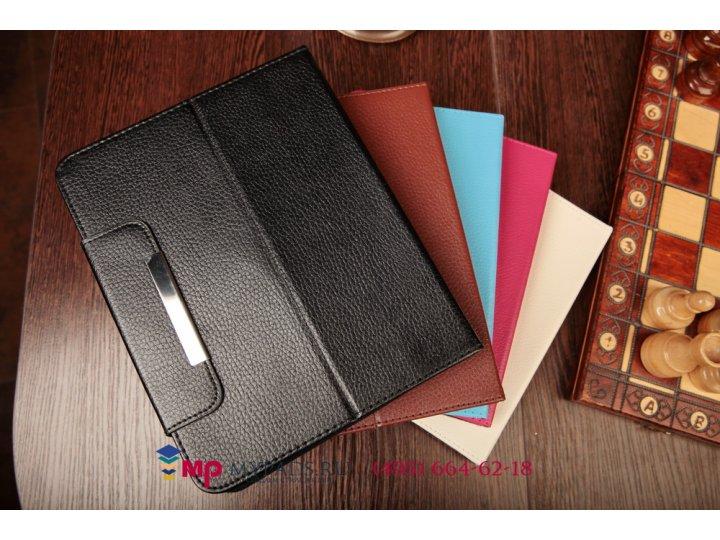 Чехол-обложка для 3q qoo q-pad rc9731c кожаный цвет в ассортименте..