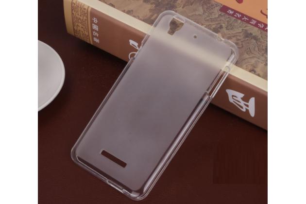 Ультра-тонкая полимерная из мягкого качественного силикона задняя панель-чехол-накладка для acer liquid z630 / z630 duo / z630s белая