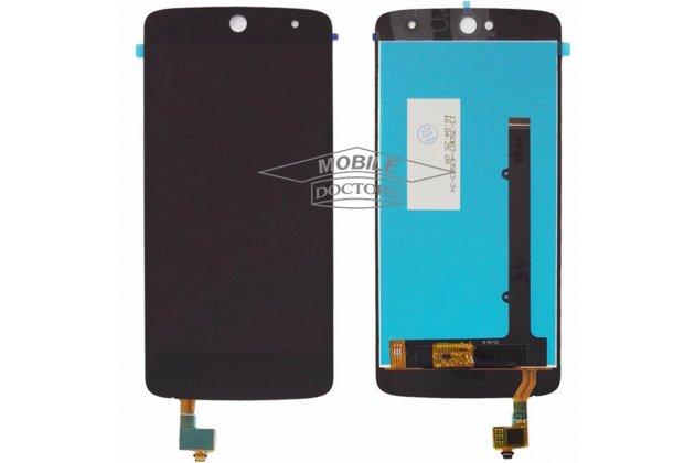 Lcd-жк-сенсорный дисплей-экран-стекло с тачскрином на телефон acer liquid zest/ liquid zest 4g черный + гарантия