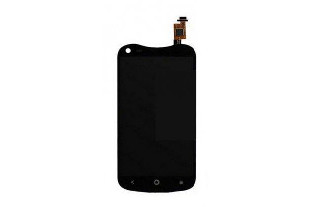 Lcd-жк-сенсорный дисплей-экран-стекло с тачскрином на телефон acer liquid e2 duo v370 черный + гарантия