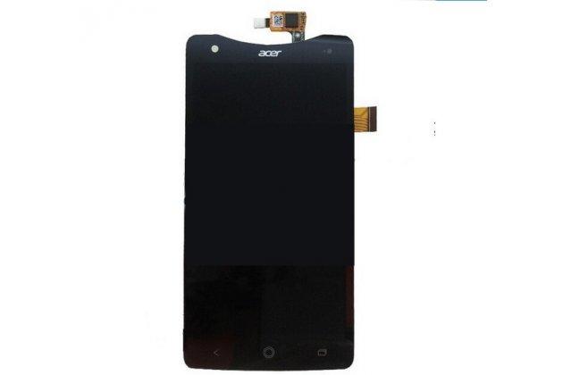 Lcd-жк-сенсорный дисплей-экран-стекло с тачскрином на телефон acer liquid s1 duo s510 черный + гарантия