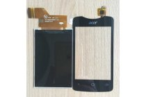 Lcd-жк-сенсорный дисплей-экран-стекло с тачскрином на телефон acer liquid z3 / z3 duo z310 черный + гарантия