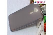 Ультра-тонкая полимерная из мягкого качественного силикона задняя панель-чехол-накладка для acer liquid z4 z160  черная