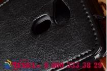 Вертикальный откидной чехол-флип для acer liquid z4 z160 черный кожаный