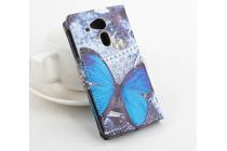 """Уникальный необычный чехол-книжка для acer liquid z4 z160  """"тематика бабочки"""""""