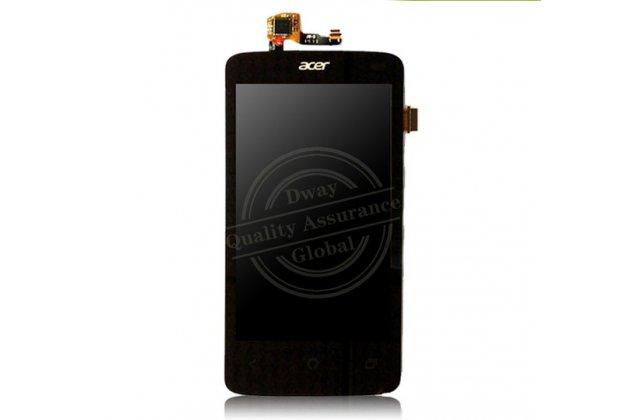Lcd-жк-сенсорный дисплей-экран-стекло с тачскрином на телефон acer liquid z4 z140 / z160 черный + гарантия