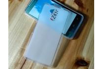 Ультра-тонкая полимерная из мягкого качественного силикона задняя панель-чехол-накладка для acer liquid z410/ z410 duo белая