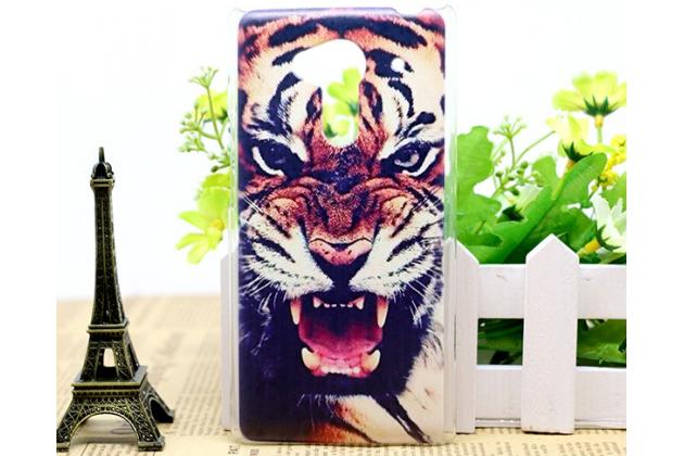 """Необычная из легчайшего и тончайшего пластика задняя панель-чехол-накладка для acer liquid z5 duo z150 """"тематика тигр"""""""