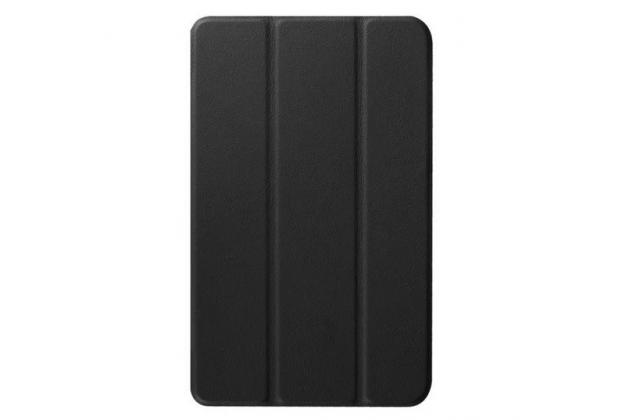 """Умный чехол самый тонкий в мире для планшета acer one 8 b1-820/821/b1-830 """"il sottile"""" черный кожаный"""