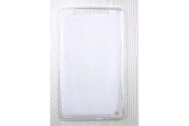 Ультра-тонкая полимерная из мягкого качественного силикона задняя панель-чехол-накладка для планшета acer iconia one 8 b1-820 / b1-830 белая