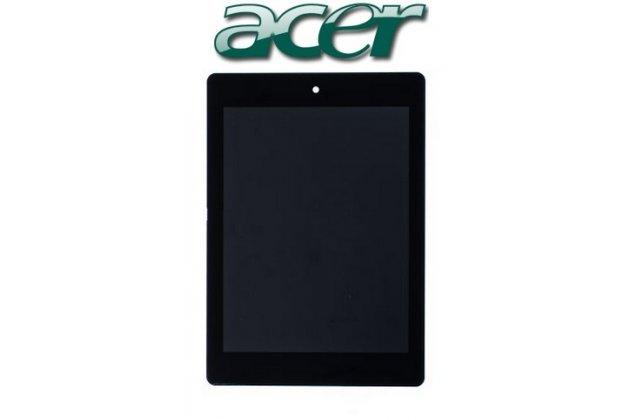 Lcd-жк-сенсорный дисплей-экран-стекло с тачскрином на планшет acer iconia tab a1-810/a1-811 черный и инструменты для вскрытия + гарантия