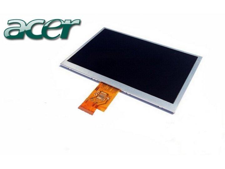 Lcd-жк-сенсорный дисплей-экран-стекло с тачскрином на планшет acer iconia tab a100/a101 черный и инструменты д..