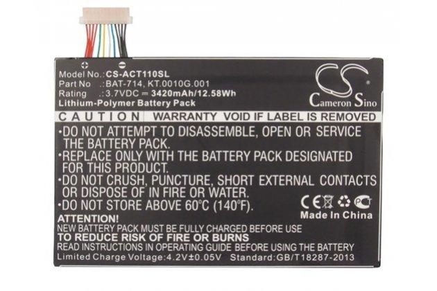 Аккумуляторная батарея 3420mah bat-714 на планшет  acer iconia tab a110/a111 + инструменты для вскрытия + гарантия