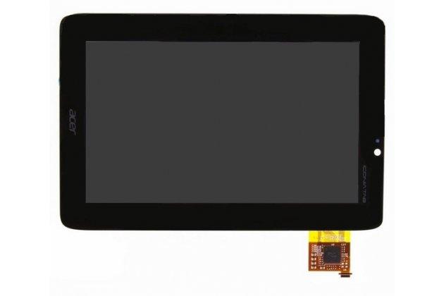 Lcd-жк-сенсорный дисплей-экран-стекло с тачскрином на планшет acer iconia tab a110/a111 черный и инструменты для вскрытия + гарантия
