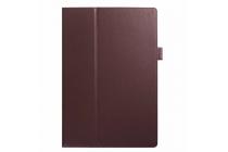 Чехол для acer iconia tab a3-a30/a31 коричневый кожаный
