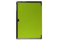 """Умный чехол-книжка самый тонкий в мире для acer iconia tab a3-a30/a31  """"il sottile"""" зеленый кожаный"""