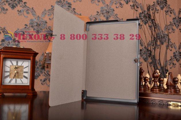"""Умный чехол самый тонкий в мире для планшета acer iconia tab a3-a30/a31 """"il sottile"""" коричневый кожаный"""