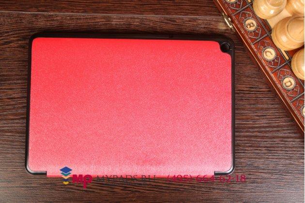 """Умный чехол самый тонкий в мире для acer iconia tab a3-a10/a3-a11 """"il sottile красный пластиковый италия"""