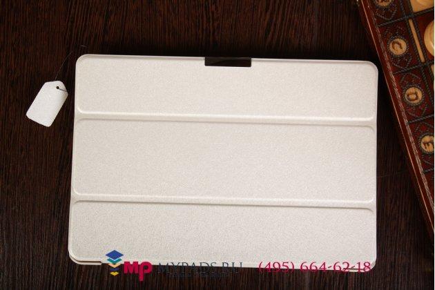"""Умный чехол-книжка самый тонкий в мире для acer iconia tab a3-a10/a3-a11 """"il sottile"""" белый пластиковый италия"""