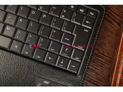 Чехол со съёмной клавиатурой для Acer Iconia Tab A700/A701 черный кожаный + гарантия..