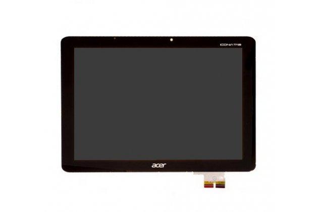 Lcd-жк-сенсорный дисплей-экран-стекло с тачскрином на планшет acer iconia tab a700/a701 черный и инструменты для вскрытия + гарантия