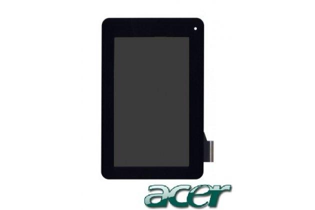 Lcd-жк-сенсорный дисплей-экран-стекло с тачскрином на планшет acer iconia tab b1-710/b1-711 черный и инструменты для вскрытия + гарантия