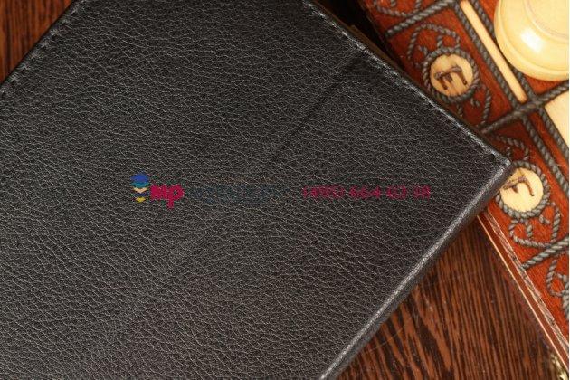 Чехол-обложка для acer iconia tab b1-a71 черный кожаный