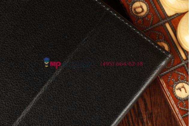 Чехол для acer iconia tab w510/w511 черный кожаный
