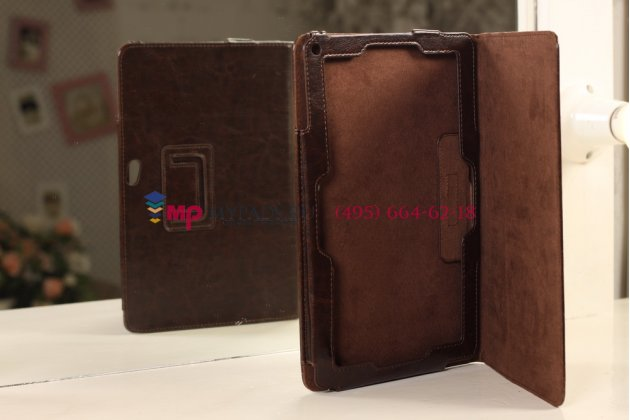 """Чехол-обложка для acer iconia tab w510/w511 коричневый кожаный """"премиум"""""""