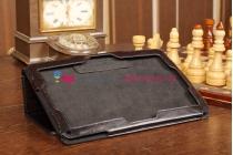 """Чехол-обложка для acer iconia tab w510/w511 черный кожаный """"премиум"""""""