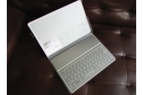 Чехол со съёмной bluetooth-клавиатурой для планшета acer iconia tab w700/w701/w7 серый кожаный (царапины на чехле)+ гарантия