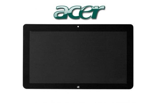 Lcd-жк-сенсорный дисплей-экран-стекло с тачскрином на планшет acer iconia tab w700/w701 черный и инструменты для вскрытия + гарантия