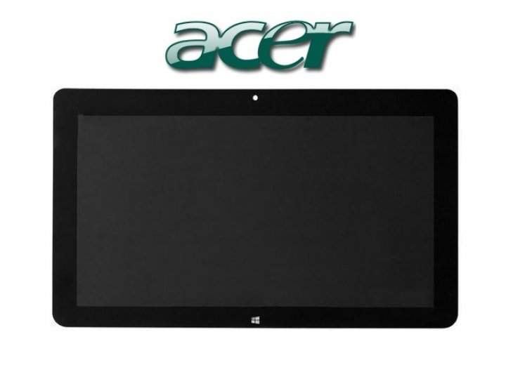 Lcd-жк-сенсорный дисплей-экран-стекло с тачскрином на планшет acer iconia tab w700/w701 черный и инструменты д..