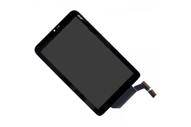 Lcd-жк-сенсорный дисплей-экран-стекло с тачскрином на планшет acer iconia tab w3-810/w3-811 черный и инструменты для вскрытия + гарантия