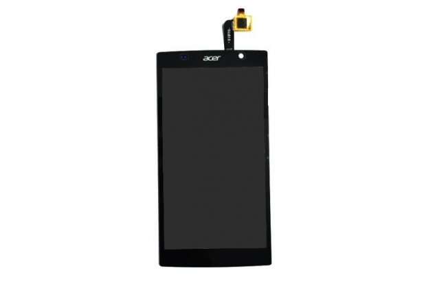 Lcd-жк-сенсорный дисплей-экран-стекло с тачскрином на телефона acer liquid z500 dual sim черный и инструменты для вскрытия + гарантия