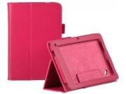 Фирменный чехол-футляр для Acer Iconia Tab W510/W511 красный кожаный..