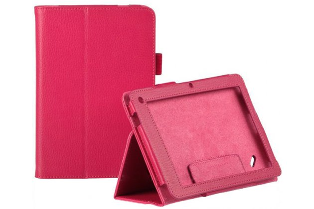 Чехол-футляр для acer iconia tab w510/w511 красный кожаный