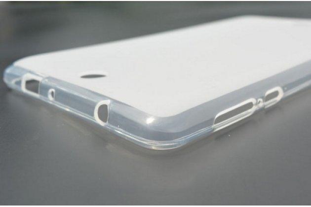 Ультра-тонкая полимерная из мягкого качественного силикона задняя панель-чехол-накладка для acer iconia one 7 b1-770-k75v 16gb, nt.lbkee.002 белая
