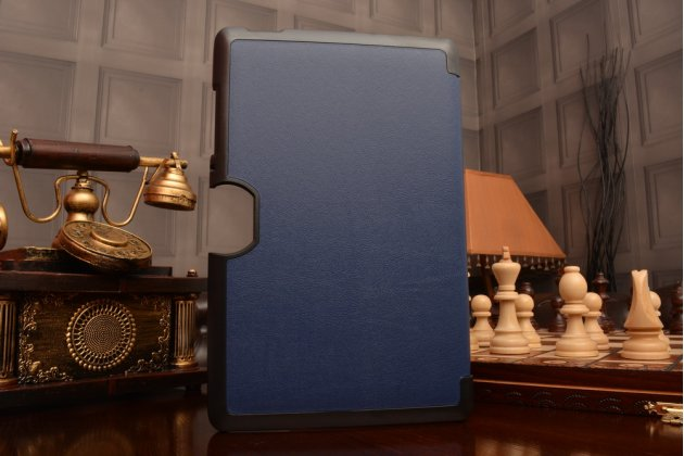 Умный чехол самый тонкий в мире для acer iconia one 10 b3-a30 il sottile синий пластиковый италия