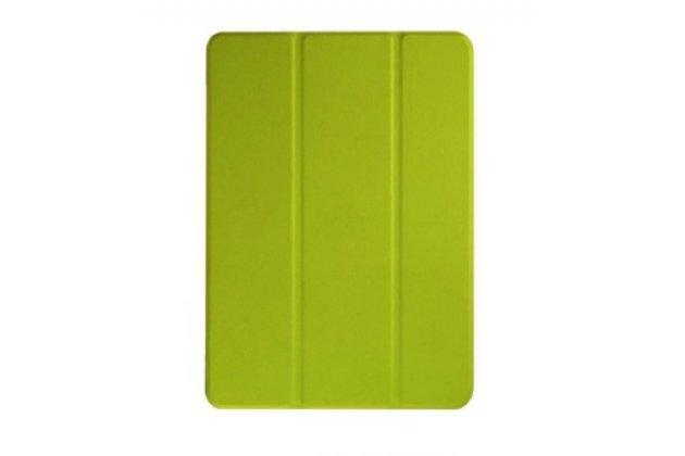 "Умный тонкий чехол для  acer iconia one b3-a10 / b3-a11 10.1/ android 5.1 / nt.lb6ee.003 / mediatek mt8151 1.7 ghz   ""il sottile"" зеленый  пластиковый"