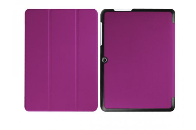 """Умный тонкий чехол для acer iconia one b3-a20 10.1"""" """"il sottile"""" фиолетовый пластиковый"""