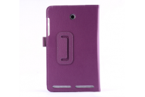 Чехол-обложка с подставкой для acer iconia tab 8 a1-840/a1-841 фиолетовый кожаный