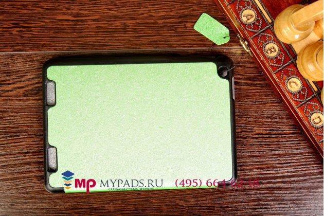"""Умный чехол самый тонкий в мире для acer iconia tab a1-830/a1-831 """"il sottile зеленый пластиковый италия"""