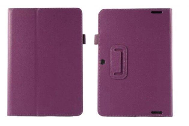 Чехол обложка для acer iconia tab a3-a20/a3-a20fhd-k76g фиолетовый кожаный