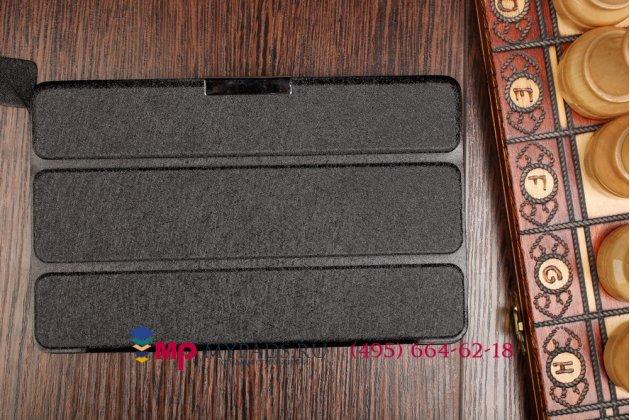 """Умный чехол самый тонкий в мире для acer iconia tab one b1-730/b7-731hd """"il sottile"""" черный пластиковый италия"""