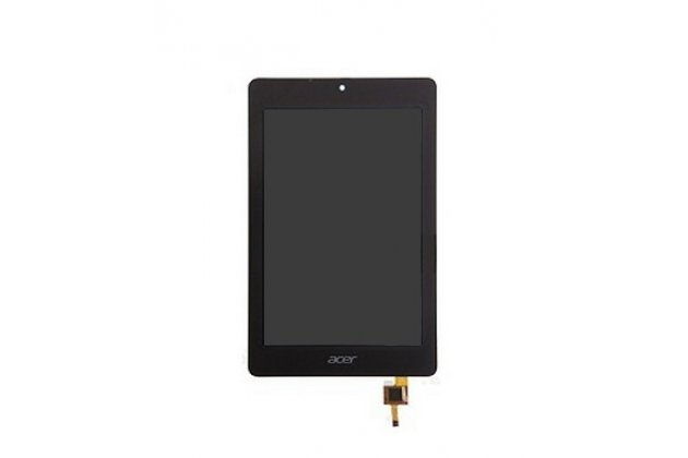 Lcd-жк-сенсорный дисплей-экран-стекло с тачскрином на планшет acer iconia tab b1-730/b7-731hd черный и инструменты для вскрытия + гарантия