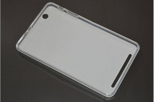 """Ультра-тонкая полимерная из мягкого качественного силикона задняя панель-чехол-накладка для планшета acer iconia tab b1-750/b1-751 7.0"""" белая"""