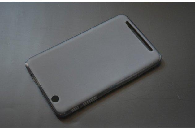 """Ультра-тонкая полимерная из мягкого качественного силикона задняя панель-чехол-накладка для планшета acer iconia tab b1-750/b1-751 7.0"""" черная"""