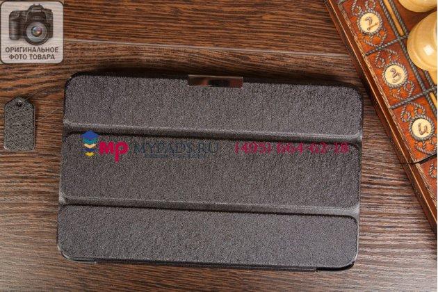 """Умный чехол самый тонкий в мире для acer iconia tab w4-820/w4-821 """"il sottile черный пластиковый италия"""