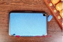 """Умный чехол-обложка самый тонкий в мире для acer iconia tab w4-820/w4-821 """"il sottile голубой пластиковый италия"""